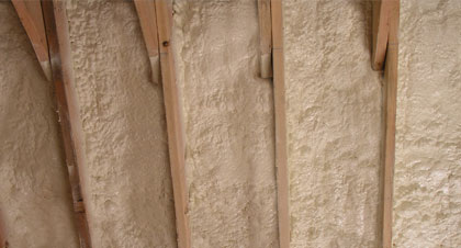 closed-cell spray foam for Oklahoma City applications